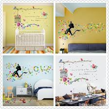 spring home decor wall stickers for