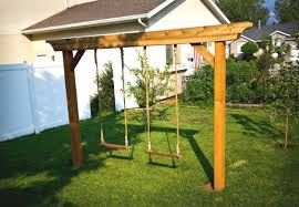 Small Picture DIY Swing Set 5 Ways to Make Your Own Diy swing Kids building