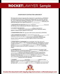 Independent Contractor Agreement Template Independent Contractor Agreement Freelance Contract Template