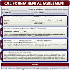 lease agreement sample rental agreement