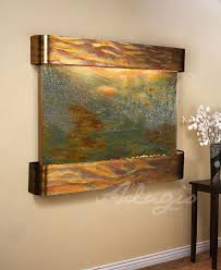 wall fountains indoor wall water features