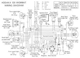 dirt bike wiring diagram hodaka d dirt bikes and dirt bike wiring diagram