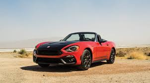 fiat new release car2017 FIAT 124 Spider Roadster