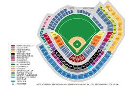 Braves Stadium Map Map 2018