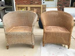 How To ReCoat Wicker Furniture  Shades Of Blue InteriorsHow To Clean Wicker Outdoor Furniture
