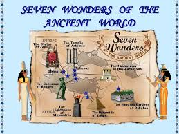seven wonders of the ancient world know it all seven wonders of the ancient world map