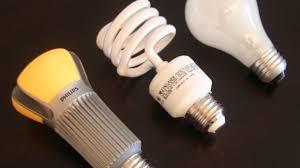 Fluorescent Lights Versus Led Side By Side Led Cfl And Incandescent Bulbs Cnet