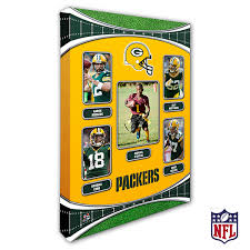 personalized nfl wall art green bay packers art 19938