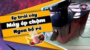 Trên tay máy ép trái cây tốc độ chậm SAVTM - ngon bổ rẻ - Egru Channel