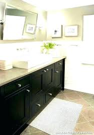paint bathroom cabinets gray tiles white spray countertop finish for home improvement appealing captivating