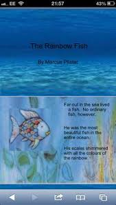 find in on the tes more information more information rainbow poem outline the rainbow fish book activities 14 pages