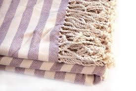 ways to striped throw blanket