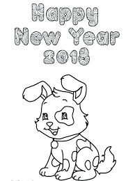 New Year Printable Coloring Pages Page Chinese Colouring
