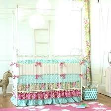 chevron baby girl bedding turquoise baby bedding girl baby bedding set garden crib bedding girl nursery