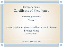 Best Performance Award Certificate Reward An Employees Outstanding Performance With This