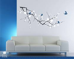 sticker wall art unique cherry blossom tree branch wall decal with birds vinyl wall of sticker wall art spectacular vinyl wall sticker decals on tree branches vinyl wall art with sticker wall art unique cherry blossom tree branch wall decal with