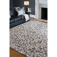 shop handwoven albie wool stone look textured area rug 8u0027 x 10u0027 on sale free shipping today overstockcom 6341712 stone rug o15 rug