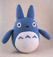 Amigurumi Patterns Free Simple Ravelry Blue Totoro Amigurumi Pattern By Lucy Collin