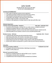 6 7 Retail Resume Examples No Experience Formatmemo