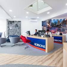 estate agent office design. Robsons Office Refurbishment Estate Agent Design Y