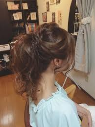 Tomimatsu Kaoriさんのヘアスタイル 高めポニーテール女子力 花嫁