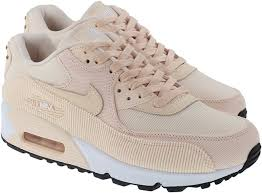 nike shoes womens air max 90 leather guava ice guava ice black image