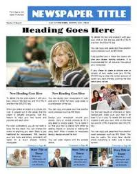 example of a newspaper article school newspaper examples google search school