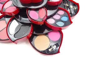 makeup kit box. professional women full set open as rose flower makeup kit color collection g123 | ebay box