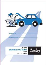 croxley jd273 32 page driver s log book pack of 20 loading zoom