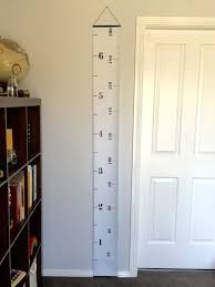Imperial To Metric Height Chart Monochrome Tape Measure Height Chart Ruler Growth Chart