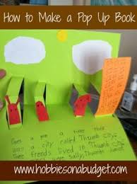 how to make a pop up book perfect for snow days rainy days or