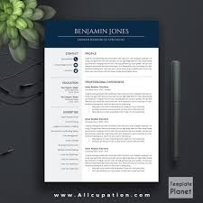 Modern Resume Template Cv Cover Letter 1 2 3 Page Download Fre Sevte