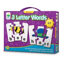 match it 3 letter words learning to spell bwalmartes fun and easy with match it 3 letter words by the learning journey walmart