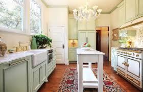 kitchen interior medium size narrow kitchen island for galley design with chandelier throughout long room