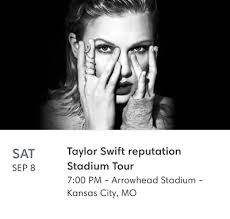 2 Tickets Taylor Swift Concert Kansas City 150 00 Picclick