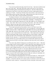 final course reflection essay spanish