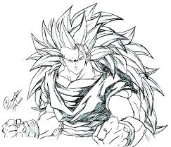 dragon ball z coloring pages free color on pictures