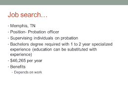 Probation (Parole) Officer Krysten Mauthe. Nature Of Work Law ...