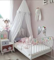 Hairball DIY Princess Canopy Bed Curtains Hanging Dome Tent White ...