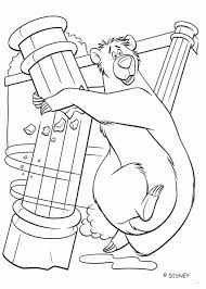 Baloo Coloring Pages At Getdrawingscom Free For Personal Use