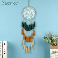 New <b>Fashion Gift Tassel</b> & Lace Dreamcatcher Wind Chimes Tassel ...