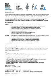 Resume For Nurses Templates New Nurse Resume Template Jaxos Co