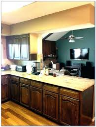 Restain Oak Kitchen Cabinets Beauteous Oak Cabinets Kitchen Staining Oak Cabinets Kitchen Cabinet Stain