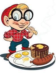 Image result for 4-H pancake breakfast clip art