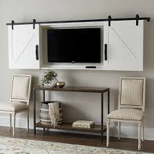 architecture tv wall cabinet with doors modern barn door tv ballard designs 0 from tv