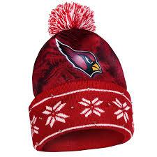 Arizona Cardinals Light Up Sweater Amazon Com Nfl Big Logo Light Up Printed Beanie Knit Cap