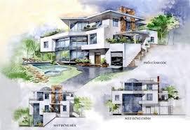 modern architectural sketches. Fine Architectural Landscape Architecture In Modern Architectural Sketches