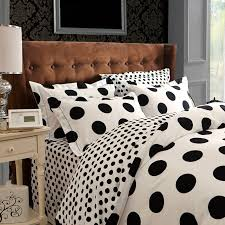attractive polka dot bedding set cotton new duvet cover toger also polka dot and black in