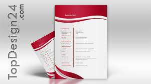 Bewerbungsvorlage Topdesign24 Musterbewerbung 2014