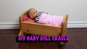 picture of diy baby doll crib
